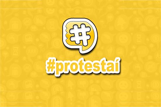Logomarca Protestaí