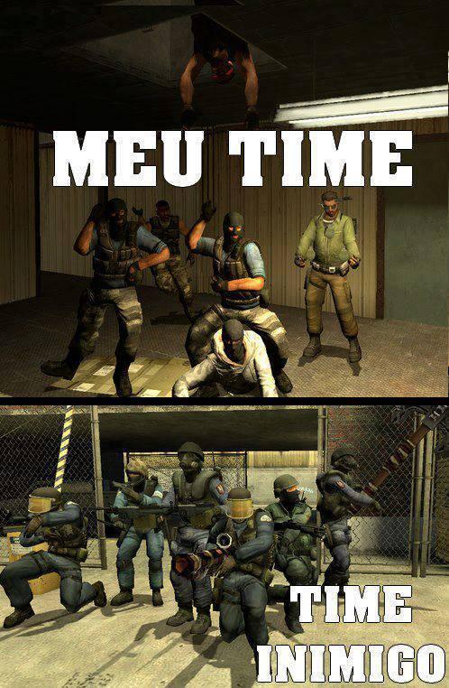 MEU TIME X TIME INIMIGO