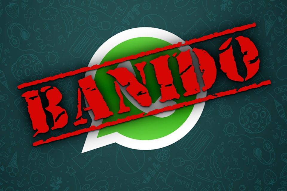 WhatsApp poderá ser banido do Brasil.
