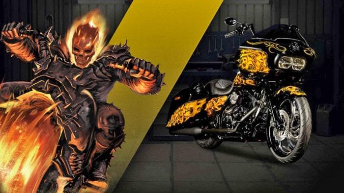 Ghost Rider-motos
