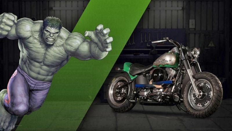 Hulk-motos