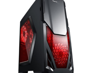 Segotep Blade Mid Tower Gaming Computer Case Support ATX M-ATX ITX Motherboard  -  BLACK